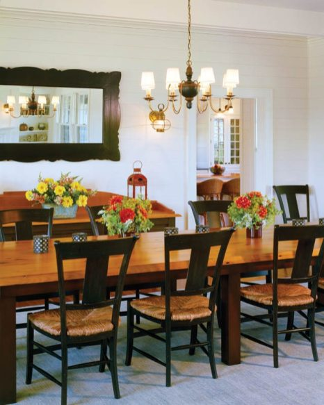 Albert Righter & Tittman Architects Dining Room
