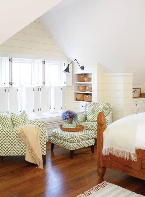 Lyman Perry Scott Hutton Cottage Bedroom