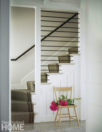 Farmhouse Modern Mitra Designs Staircase