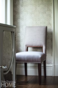 Riverside Transitional Muse Interiors Dining Chair Detail