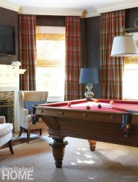 Southport Shingle Style Billiard Room