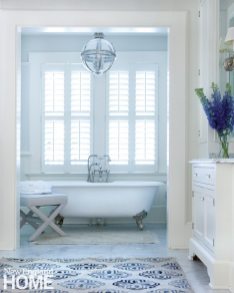 Southport Shingle Style Master Bathroom