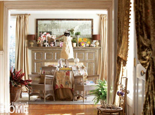 Home of Artist Rachel Valpone Living Room