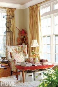 Home of Artist Rachel Valpone Sitting Area