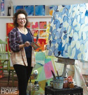 Artist Rachel Valpone