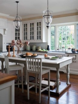 Brooks designed all of the kitchen cabinetry.