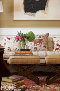 Patrick Ahearn Edgartown Study Couch