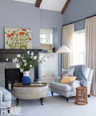 Patrick Ahearn Edgartown Master Bedroom Sitting Area