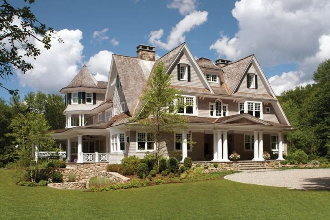 Country Club Homes Shingle Style Exterior