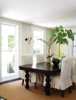 Fairfield County Federal Style Dining Room