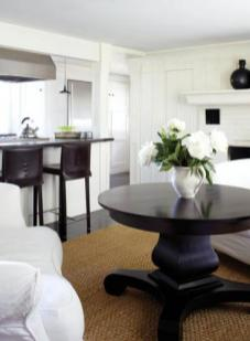 Fairfield County Federal Style Kitchen Seating Area