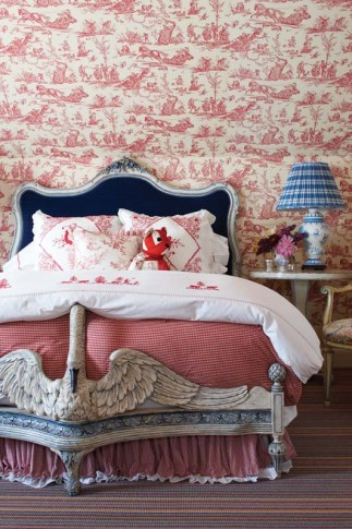 Wendy Valliere bedroom