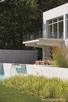Gilberte Interiors glass rail