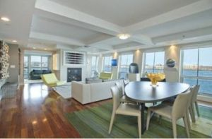 On the Market: A Condo at Battery Wharf in Boston