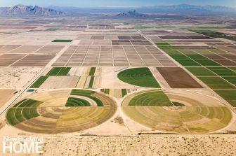 Alex MacLean_Desert Pivot Irrigation