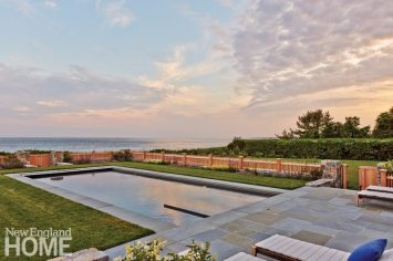 Dan Godron Mid-Cape Landscape Design Pool Fence