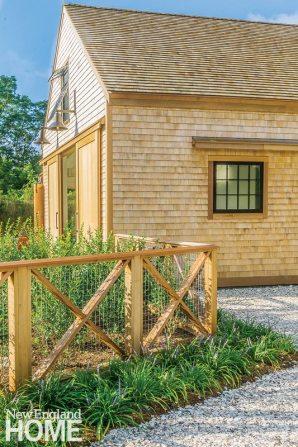 Kimberly Mercurio Cape Cod Landscape Design Pool House Fencing