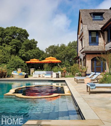 Rhode Island Shingle Style Pool