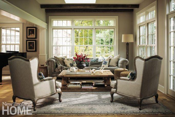 Westport Farmhouse Living Room