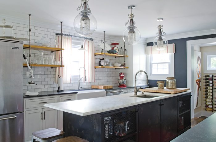 Kitchens From The Summer Issue Of New England Home Connecticut
