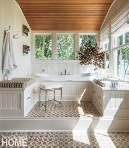 Jamestown Shingle Style Master Bathroom