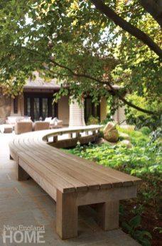 Terrace in Brookline, Mass.