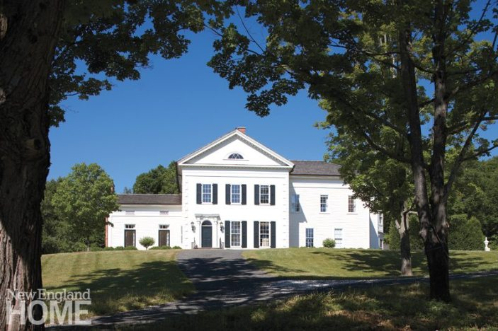 Litchfield County Neoclassical Exterior
