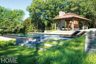 Lda Architects Wellesley Tudor Pool House