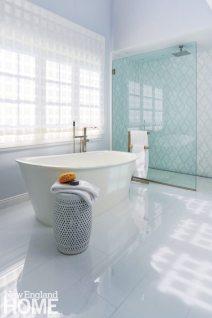 Lda Architects Wellesley Tudor-Style Home Master Bathroom