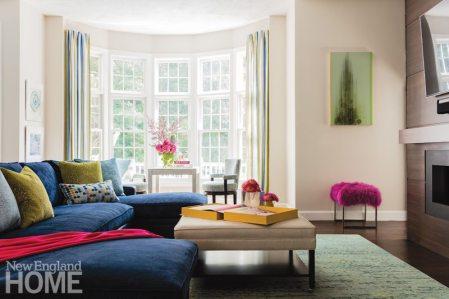 Vibrant Family Home Family Room