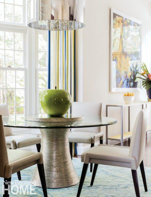 Vibrant Family Home Neutral Breakfast Area