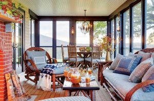 Peter Penoyer New Hampshire Screened Porch