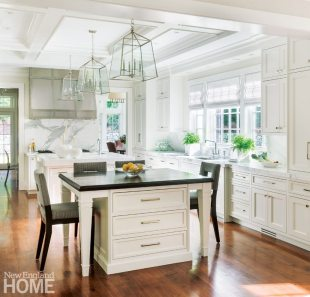 Kitchen Weston Massachusetts Home