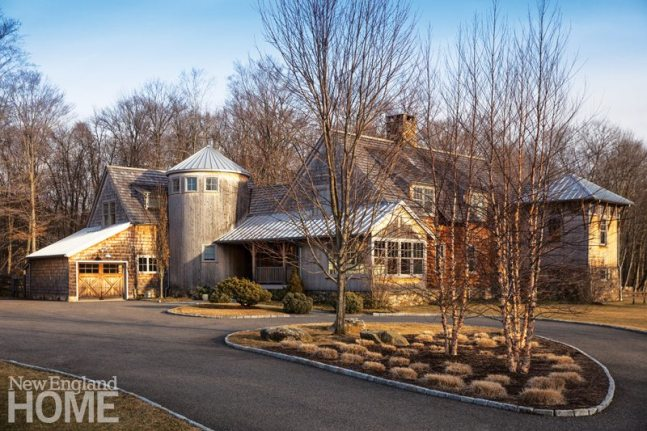 Rustic Farmhouse Washington Connecticut Exterior