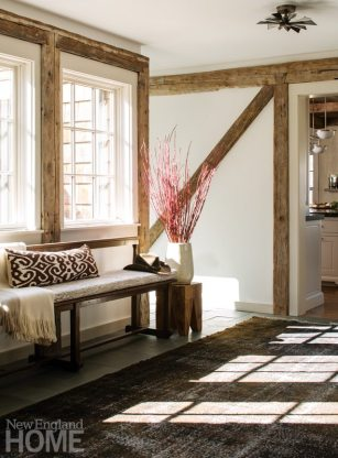 Rustic Farmhouse Washington Connecticut Entryway