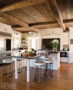 Rustic Farmhouse Washington Connecticut Kitchen