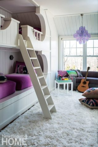 Colorful Teen Bunk Room