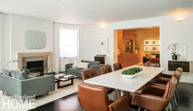 Manuel de Santaren Boston Living and Dining Areas