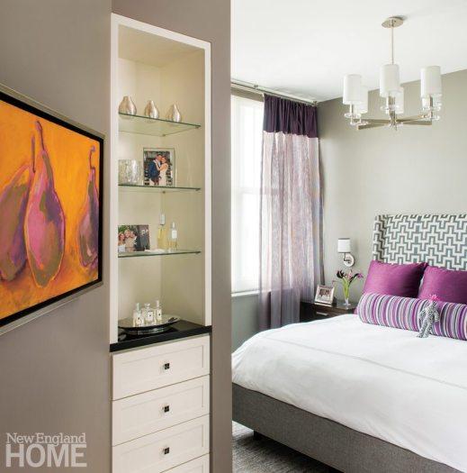 Kelly Taylor Providence Condo Master Bedroom