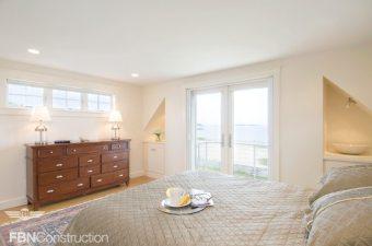 Coastal bedroom built by FBN Construction