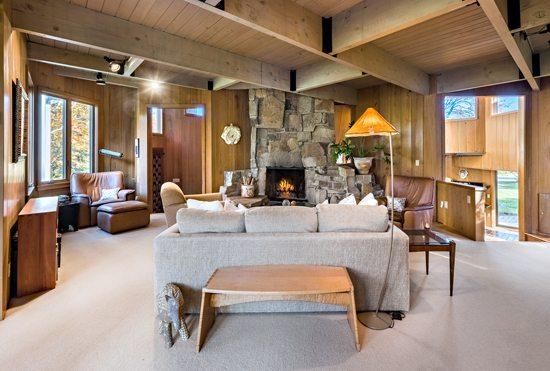 Charles Moore Mid-Century Modern Living Room