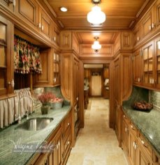 Wayne Towle Wood and Furniture Refinishing Butler's Pantry