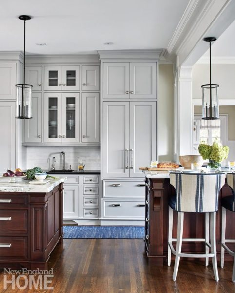 tudor style kitchen A Tudor Style Home Gets a Fresh Look - New England Home