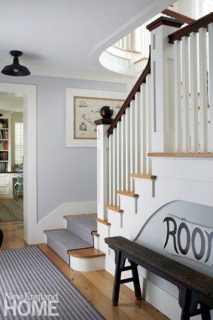 Nantucket Home Staircase