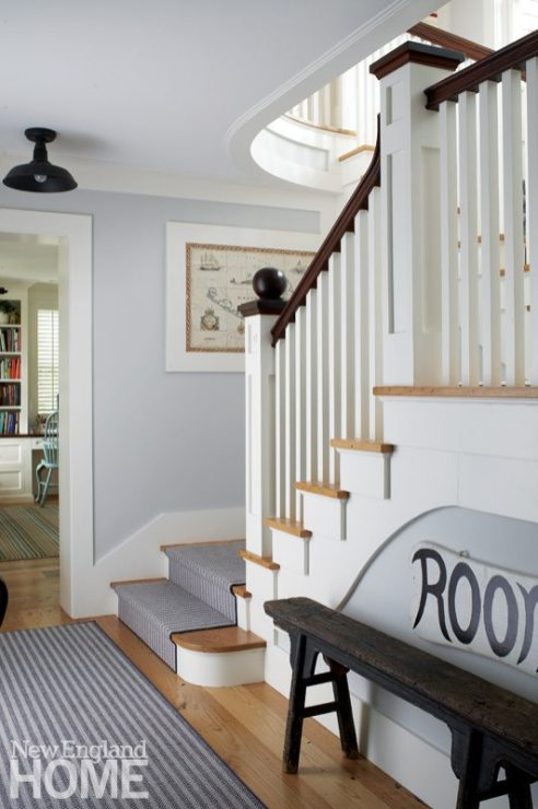 Nantucket Home Staircase