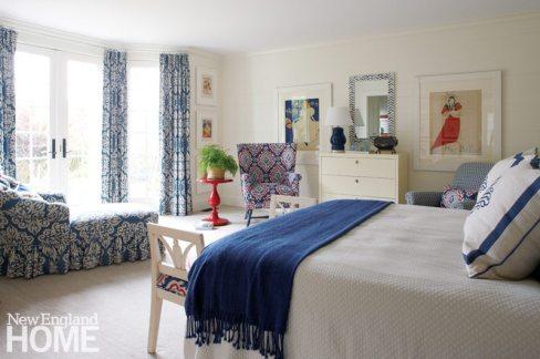 Nantucket Home Master Bedroom