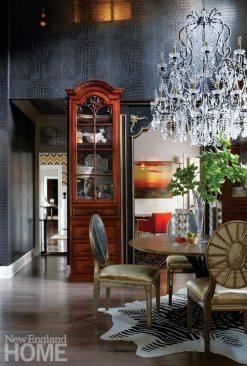 Kellie Burke Kitchen Wood Display Cabinet