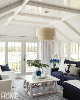 Cape Cod Cottage Living Room