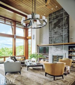 MJ17 Stowe Vermont Living Room