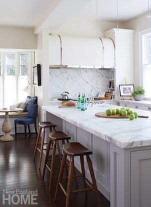 Gauthier Stacy Hingham White Kitchen